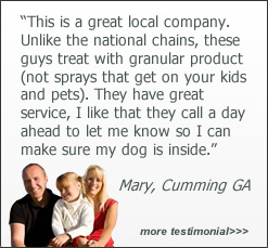 Customer testimonials about Tender Lawn Care of Cumming GA